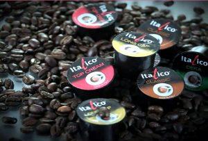 厳選されたコーヒー豆